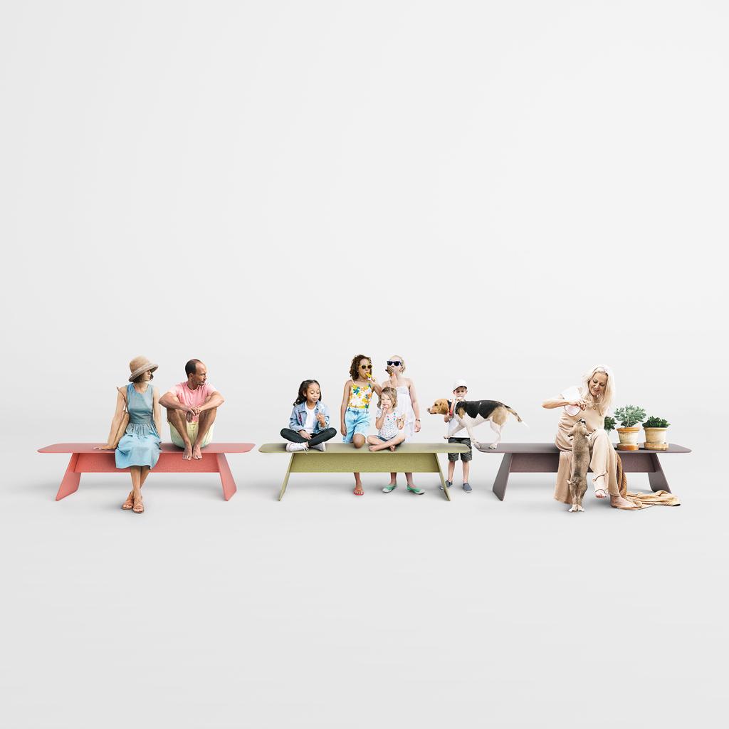 design, bench, steel, inspiration, concept store