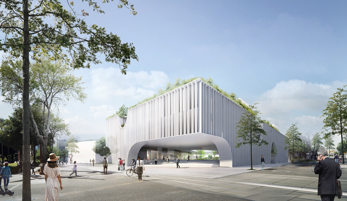 identity building, icon, ho chi minh city green building, passive design, green architecture, ho chi minh city architecture