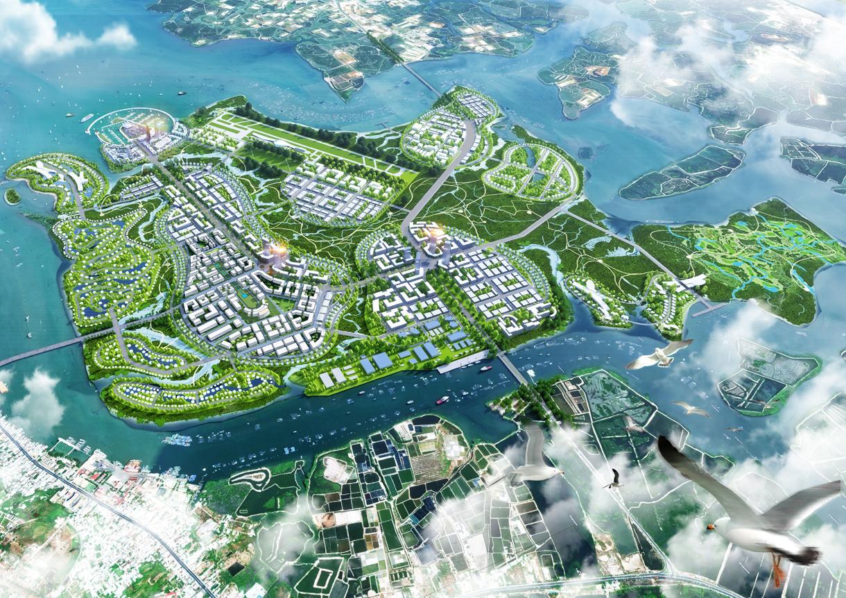 vietnam masterplan, huni architetectes